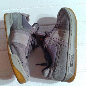 Diesel suede leather upper low top sneakers